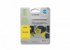 Картридж №178 HP CB320HE Yellow неоригинальный Купить