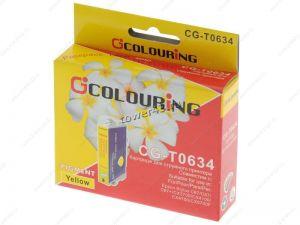 Картридж T0634 (Yellow) для Epson Stylus Color C67 /87 /CX3700 /CX4100 /CX4700 неоригинальный* Купить
