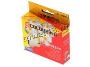 Картридж T0822 (cyan) для Epson Stylus R270/290/390/RX590 неоригинальный Купить