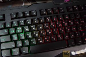 Клавиатура Defender Legion GK-010D RU (чёрный) 3-х цв подсветка,19 Anti-Ghost, Влагоустойчивая Цены