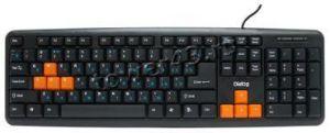 Клавиатура Dialog KS-020U, USB черно-оранжевая Купить