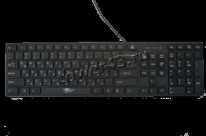 Клавиатура IVT SW-KB141, 104+5кн.быстрого доступа, USB, черный Купить
