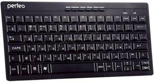 Клавиатура Perfeo (PF-8006) COMPACT Multimedia беспроводная (черная) Купить