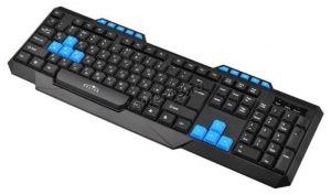 Клавиатура Oklick 750G FROST WAR BlackBlue USB игровая Цена