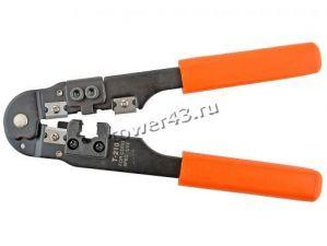 Клещи для обжима сетевого кабеля RJ-45 Купить