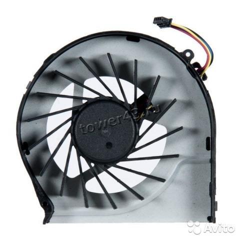 Вентилятор для ноутбука HP (серии G4, G6, G7) 4pin