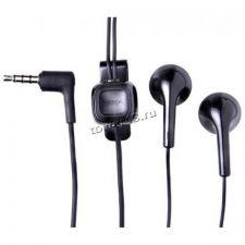 Наушники+микрофон Nokia разъем miniJack 3.5, вкладыши, с кнопкой ответа/без кнопки, черные Купить