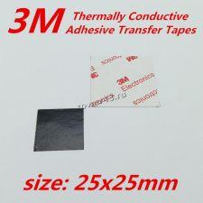 Термопрокладка 3М 25х25мм 0,1мм (для приклеивания радиаторов охлаждения) Купить