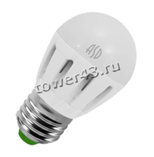 Лампа светодиодная (LED) ASD Standаrt ШАР 7.5Вт, 4000К, E27, 600лм Retail Купить