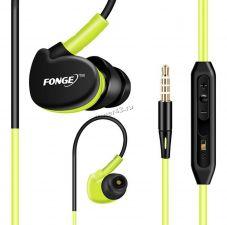 Наушники+микрофон FONGE S500 вкладыши водонепроницаемые с регулятором громкости Купить