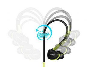 Наушники+микрофон FONGE S500 вкладыши водонепроницаемые с регулятором громкости (цвет в ассорт.) Цена