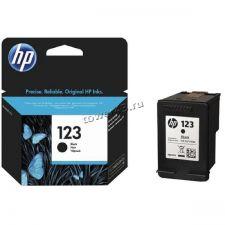 Картридж №123 HP F6V17AE (DeskJet 2130) черный оригинальный Купить