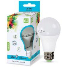Лампа светодиодная (LED) A60 Standart, 9Вт (аналог 75Вт), 3000К, E27 630лм Ret. Купить