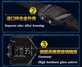 Часы PUXU подростковые электронные с подсветкой ( в ассортименте) Цены