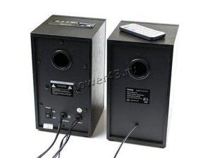 Колонки Dialog AD-07 BLACK 2*12W RMS - активные, FM радио, USB+microSD reader, пульт ДУ Цены
