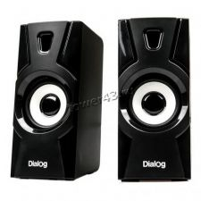 Колонки Dialog Stride AST-10UP BLACK  2.0, 10W RMS, черные, питание USB Купить