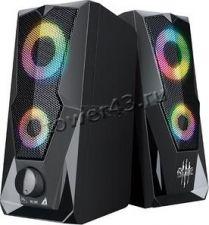 Колонки QUMO BLADE AS001 15Вт USB, RGB-подсветка Купить