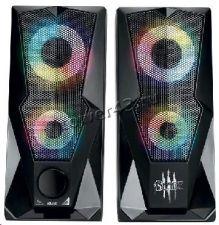Колонки QUMO BLADE AS001 15Вт USB, RGB-подсветка Цена