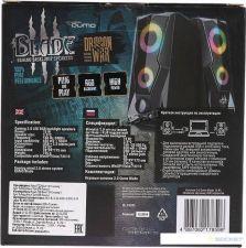 Колонки QUMO BLADE AS001 15Вт USB, RGB-подсветка Цены