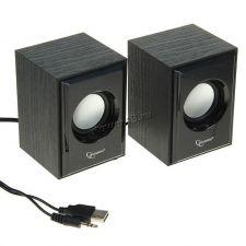 Колонки Gembird SPK-202, МДФ, черный, 2х3 Вт, USB-питание Купить