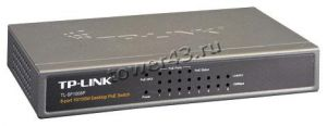 Коммутатор TP-Link TL-SF1008P 8-port 10/100M Desktop PoE (4port) Switch Купить