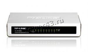 Коммутатор TP-Link TL-SF1008D 8-port SwithHub 10/100Mbps Retail Купить
