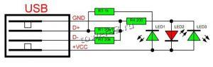 Тестер-разрядник USB нагрузки (нагузка 1А/2А), индикатор Цены