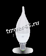 Лампа светодиодная (LED) ASD Standart СвечаНаВетру 5Вт, 4000К, E14, 400лм Retail Купить