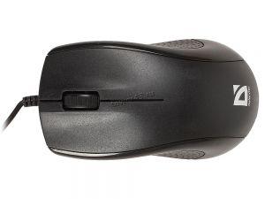 Мышь Defender Optimum MB-270 черный,3 кнопки,1000 dpi USB Купить