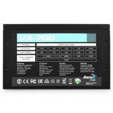 Блок питания Aerocool 700W ATX VX-700 6+2xPCI-Ex4 +12VA -54A FAN12cm switch New ver. ActivePFC RTL Цена