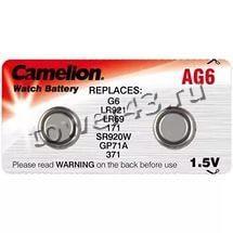 Литиевый дисковый элемент AG 06 370A LR921 Camelion Купить
