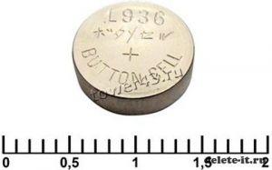 Литиевый дисковый элемент AG 09 394A LR936 Camelion Купить