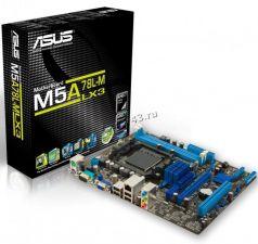 Мат.плата Soc-AM3+ ASUS M5A78L-M LX3 AMD760G PCI-E 2xDDR3 4SATAII RAID VGA (D-SUB) GLAN mATX Rtl Купить