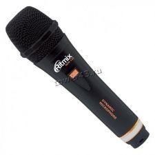 Микрофон Ritmix RDM-131 для караоке, шнур 3м, корпус металл Купить