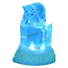 Мишка на ледяном кубике ORIENT NY5062, подсветка 7 цветов, USB Цены