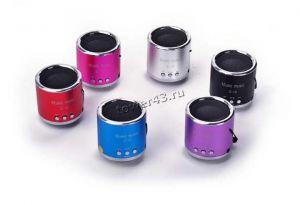 Мобильная колонка-плеер Z-12 /TD-V26 /T-2012 /MD-07U /DS-11 USB/microSD Вятские Поляны