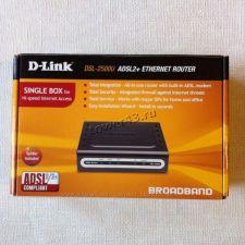 Модем ADSL DLink DSL-2500U/BRU/D ADSL2+ AnnexA Ethernet Retail (cо сплиттером) Цена
