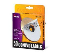 Наклейки на CD/DVD диски Aidata 50шт Купить