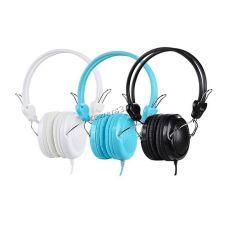 Наушники+микрофон HOCO W5 накладные синие, шнур 1,2м, 4пин, L-штекер Купить